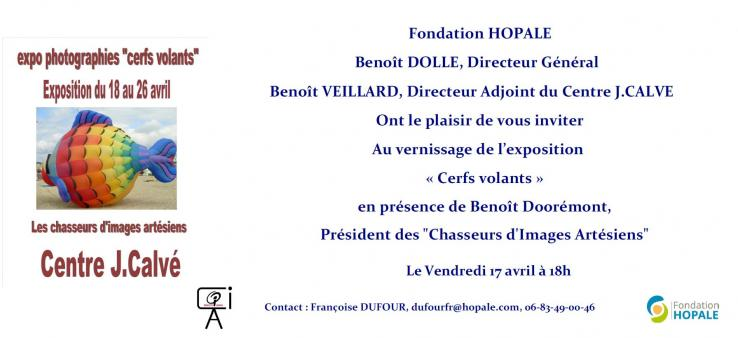 Invitation cerfs volants