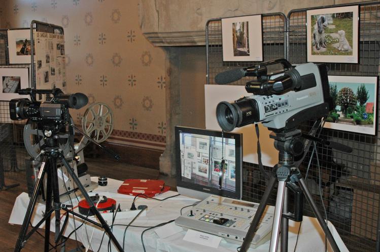 Les 2 cameras videos